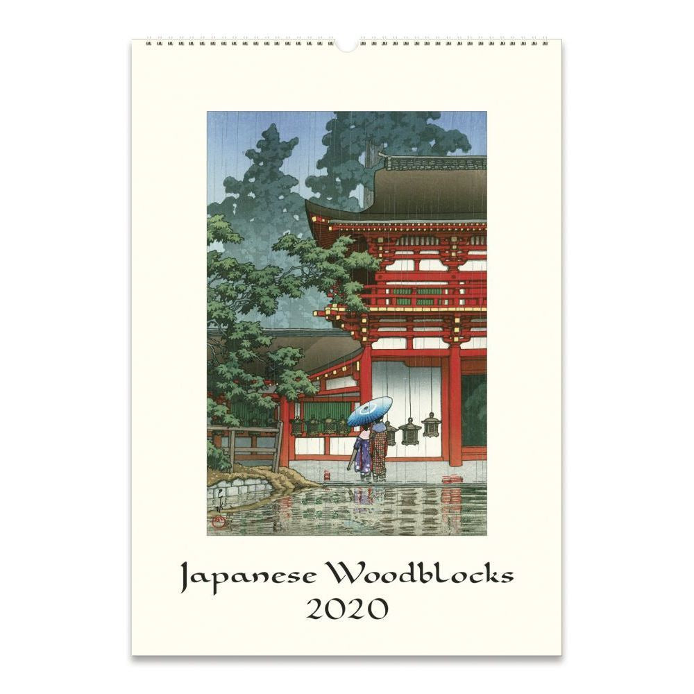 Japanese Woodblock Wall Calendar 2020 - WishBasket