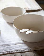 Bamboo Serving Bowl - WishBasket