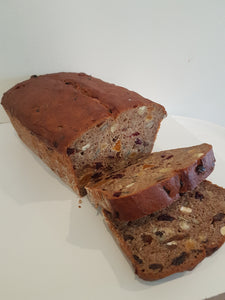 Fruit and Nut Bread (Gluten Free. Vegan)