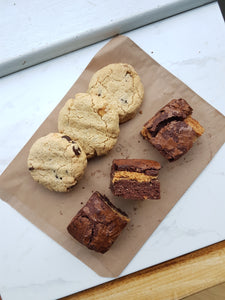 Choc Chip Cookies / Peanut Butter Brownie Value Packs