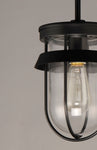 Breakwater 1-Light Outdoor Pendant / Semi-Flush