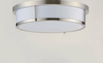 Rogue LED 1-Light Flush Mount EM Back Up