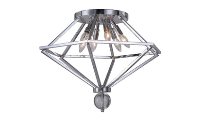 Calista 6-Light Flush Mount
