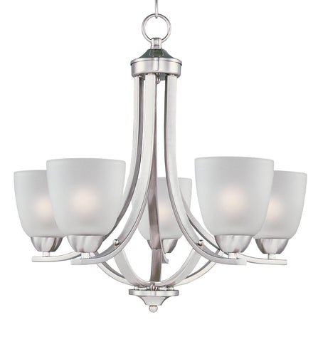 Axis-Single-Tier Chandelier