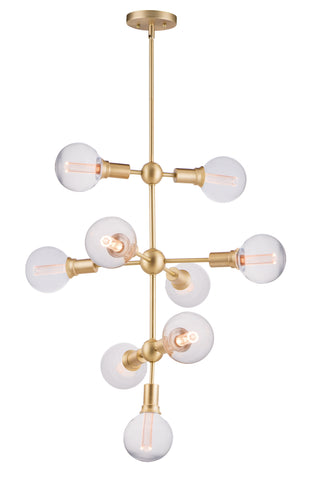 Molecule-Entry Foyer Pendant