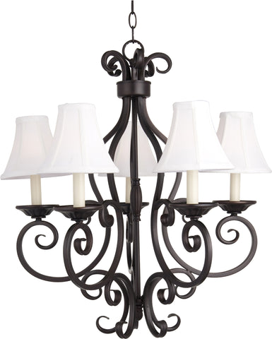 Manor-Single-Tier Chandelier