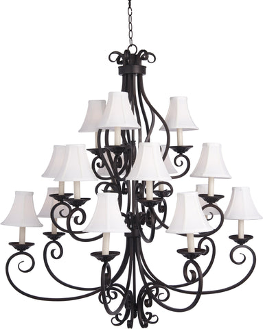 Manor-Multi-Tier Chandelier