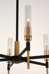 Flambeau 8-Light Chandelier