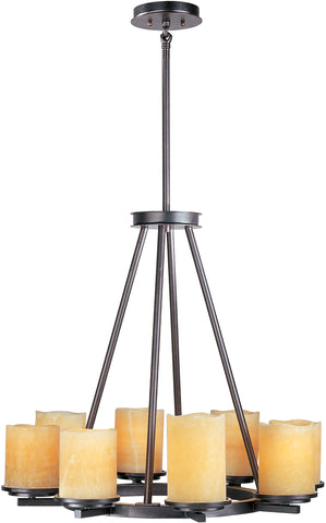 Luminous-Single-Tier Chandelier