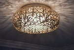 Arabesque 7-Light Flush Mount