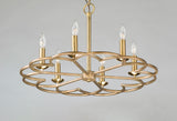 Helix 6-Light Chandelier