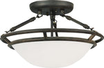 Stratus-Semi-Flush Mount