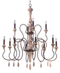 Olde World-Multi-Tier Chandelier