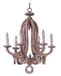 Olde World-Single-Tier Chandelier