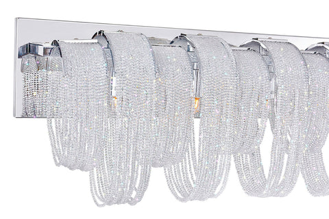 Engaged 6-Light Wall Sconce