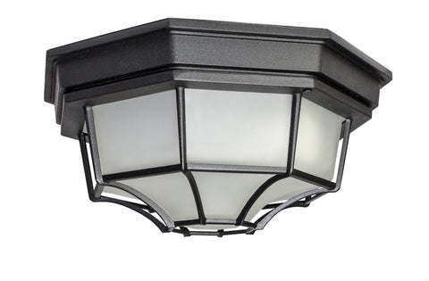 Crown Hill LED E26-Outdoor Flush Mount