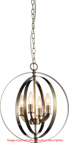 Delroy 4-Light Chandelier