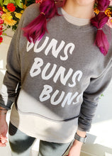 Load image into Gallery viewer, Cropped Buns Buns Buns Sweatshirt