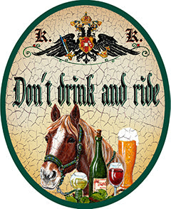 don´t drink and ride