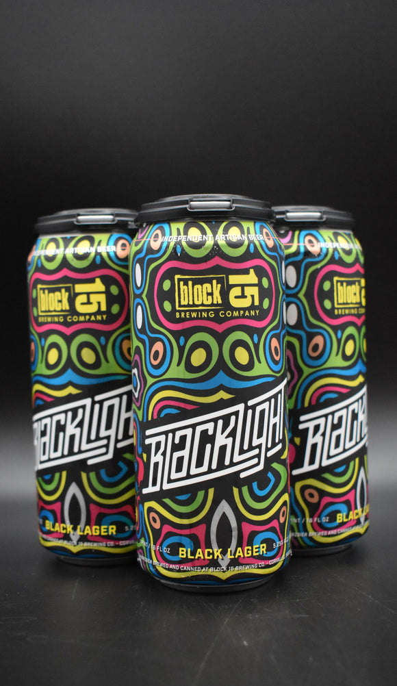 Block 15 - Blacklight Schwarzbier