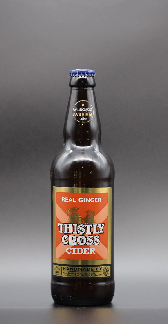 Thistly Cross - Ginger Cider