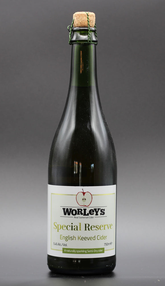 Worley's Cider - Special Reserve