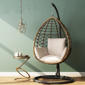 Comfortable Rattan Hanging Egg Chair