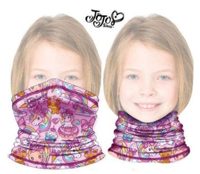 Children's Neck Gaiter/Face Bandana for ages 4+ JoJo Siwa