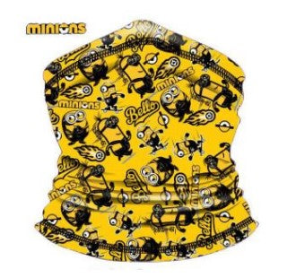 Children's Neck Gaiter/Face Bandana for ages 4+ Minions