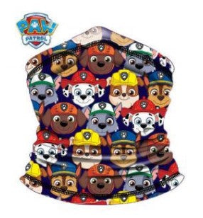 Children's Neck Gaiter/Face Bandana for ages 4+ Paw Patrol