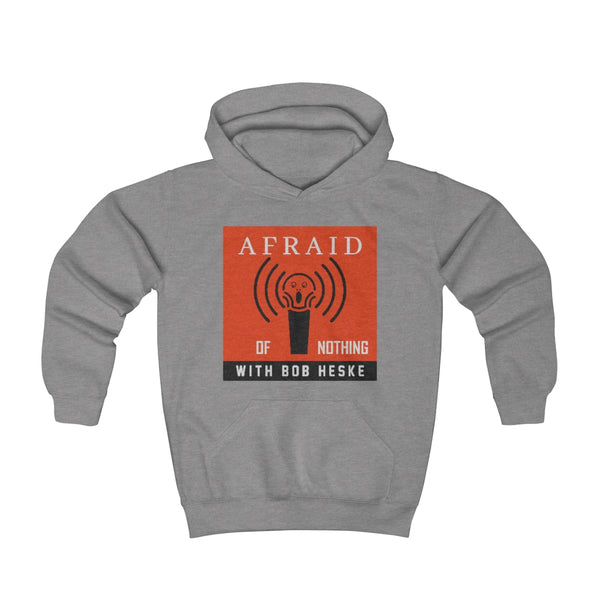 Afraid of Nothing Orange Logo - Youth Hoodie