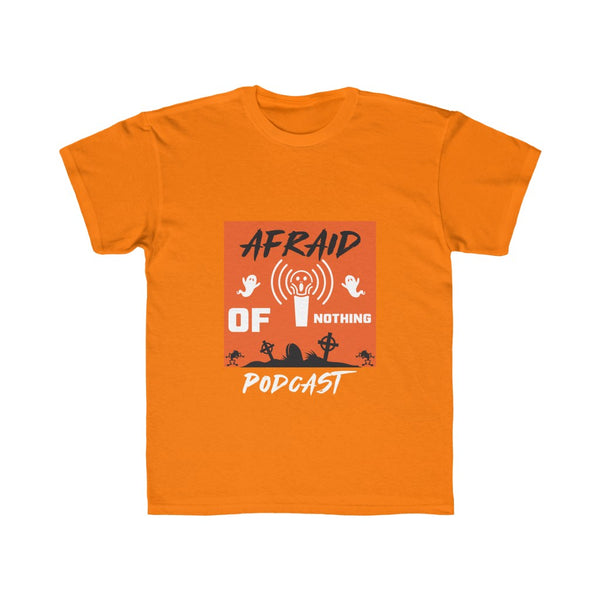 Afraid of Graveyard 1 - Kids Regular Fit Tee