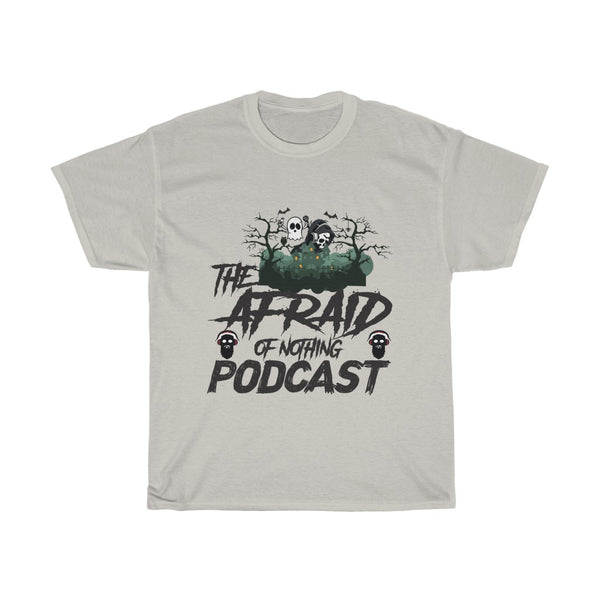 Afraid of Ghost Listener - Unisex Heavy Cotton Tee