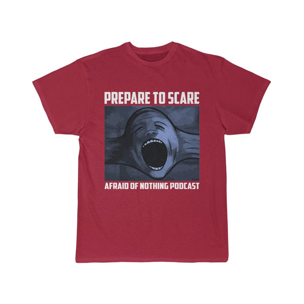 Prepare to Scare Screaming Head - Men's Short Sleeve Tee
