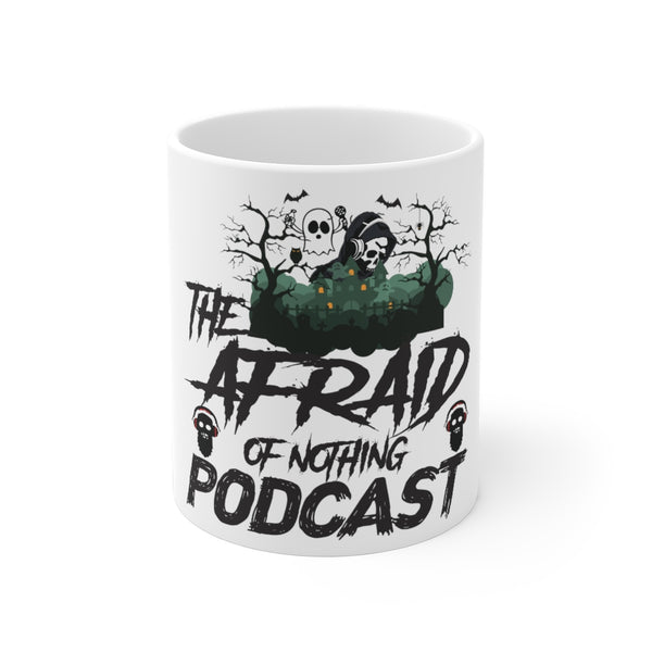 Afraid of Ghost Listener - Coffee Mug 11oz