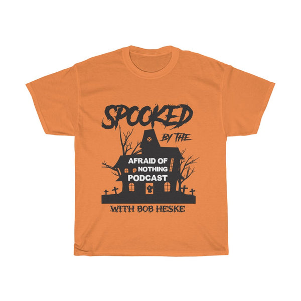 Spooked by AON - Unisex Heavy Cotton Tee