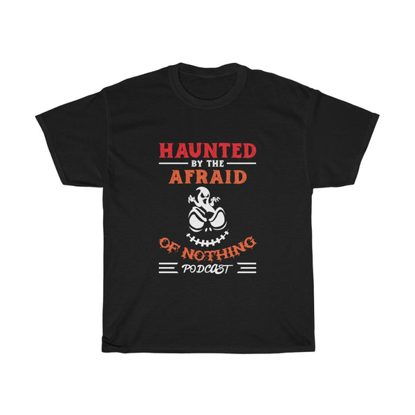 Haunted by AON Podcast - Unisex Heavy Cotton Tee
