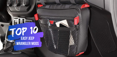 Top 10 EASY Jeep Wrangler Mods you can Install at Home
