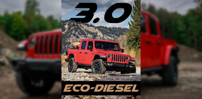 It's Coming! Jeep Gladiator Diesel with 3.0 EcoDiesel Announced