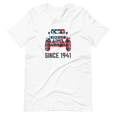 Jeep Wrangler Since 1941 T Shirt