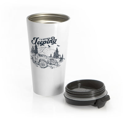 Rather be Jeeping Jeep Travel Mug