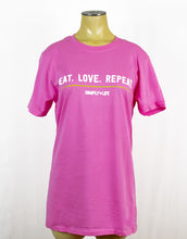 Load image into Gallery viewer, T-shirt: Eat.Love.Repeat Crewneck