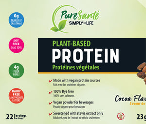 Plant-Based Protein Powder - Chocolate