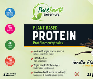 Plant-Based Protein Powder - Vanilla