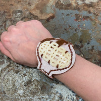 Leather Calfhair Bracelet