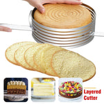 Load image into Gallery viewer, 【LIMITED TIME SALE】Adjustable Stainless Steel Cake Slicer