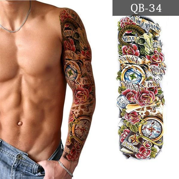 ONLY $4.99 TODAY!- Tattoo Waterproof-Buy 5 get 3 free!cart automatic discount!