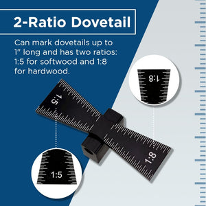 Woodworking Dovetail Scale