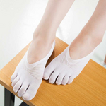 Load image into Gallery viewer, Women's Toe Socks Low Cut Five Finger Socks-Buy 4 get extra 15% OFF- use code👉 B20