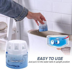 Automatic Bubble Toilet Cleaner-over 2000 times in cold water!